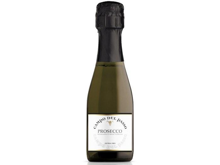 Víno PROSECCO mini EXTRA DRY 250 ml CAMPO DEL PASSO