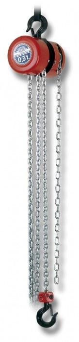 Kladkostroj závěsný řetězový Z100-NEXP/0,5 t/6 m