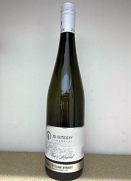 Víno Ryzlink rýnský 2020 MZV polosuché 0,75 l č. š. 23-20 alk.11,5 %