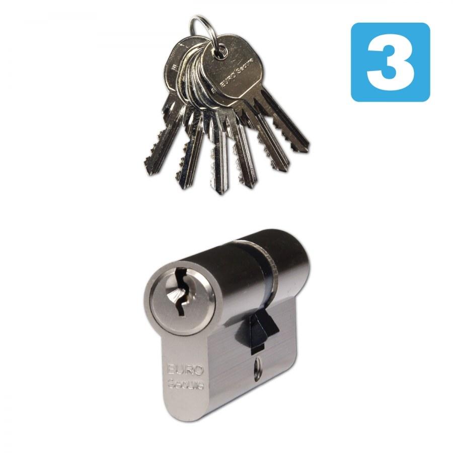Vložka bezpečnostní EURO SECURE ES.40/45.NI BT3 (RJ06120019) balení 10 ks